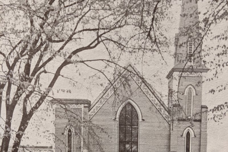 The original First Baptist Church Truro. It was first known as Prince Baptist Church, and was partially rebuilt in 1956. - Contributed