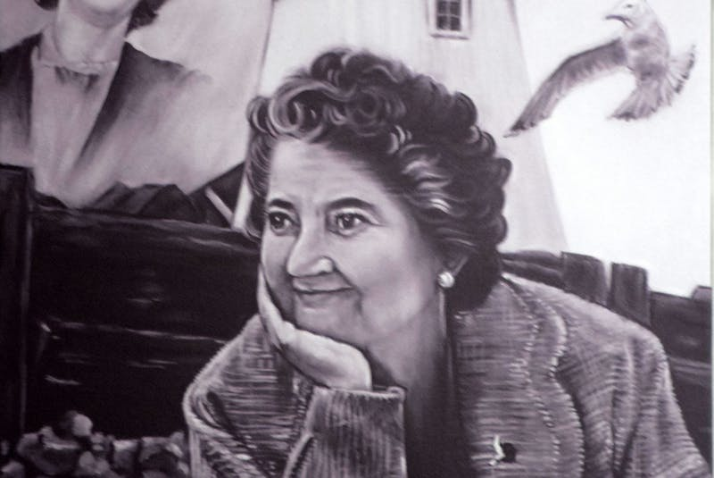 An artistic tribute to the late Evelyn Richardson, created by Woods Harbour artist Sheila Symonds. CONTRIBUTED - Contributed