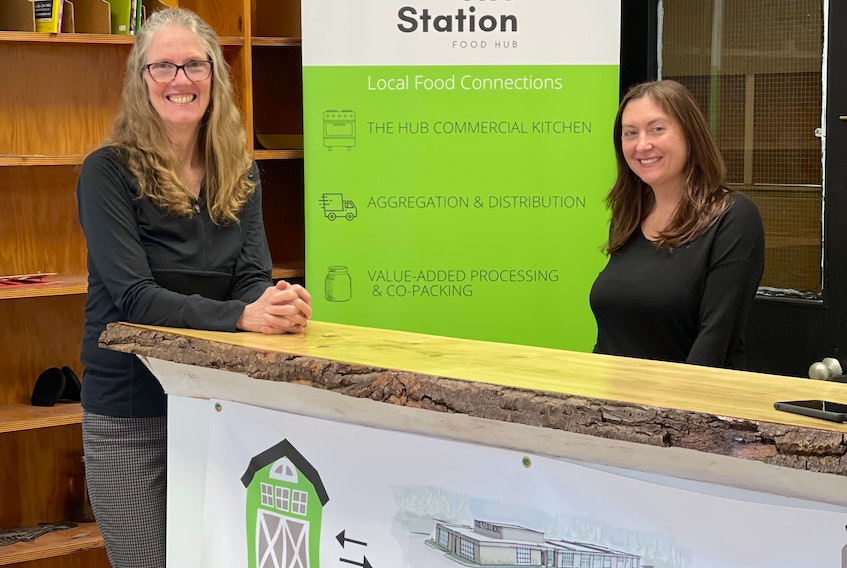 Heather Lunan and Rebecca Tran transformed the former Newport Station District School into the Station Food Hub.