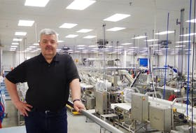 Alberto Wareham, president and CEO of Icewater Seafoods, Arnold's Cove. The company usually employees 225 people from May to December, processing cod for export to Europe.