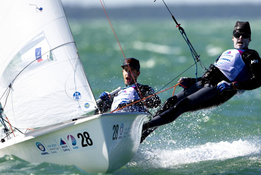 Oliver Bone and Jacob Saunders of the Royal Nova Scotia Yacht Squadron were selected last week to represent Canada at the Summer Olympics in Japan. The pair will compete together in the men's 470 two-person dinghy. - Sail Canada