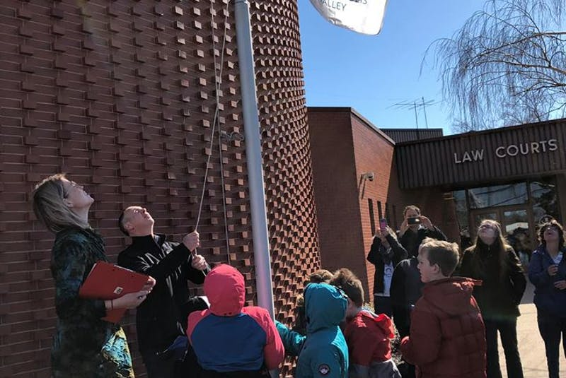 With the exception of 2020, the County of Kings has hosted a flag raising and proclamation ceremony in recognition of Autism Acceptance Month every April for the past several years.  - Contributed