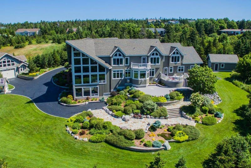 This $2,995,000 home is located in Portugal Cove-St. Philip's on the north section of the Avalon Peninsula in Newfoundland and Labrador. CONTRIBUTED  - David Jala