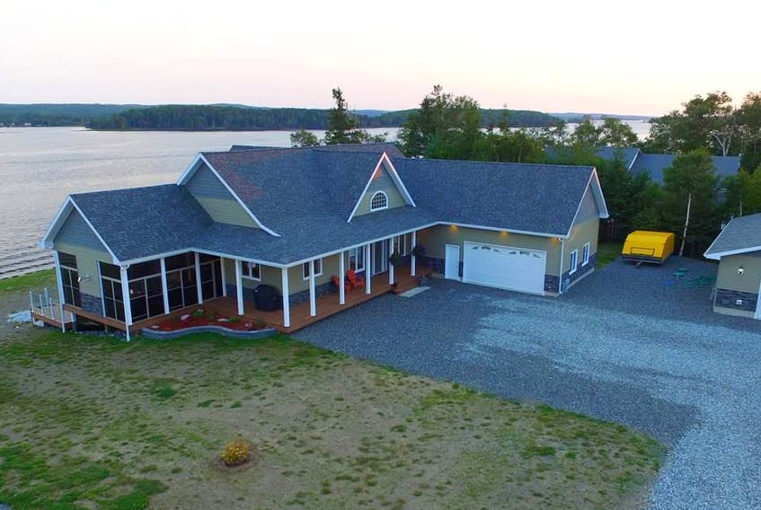 Overlooking the Mira River, this Albert Bridge area house is going for $1,290,000. CONTRIBUTED