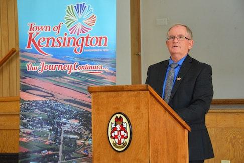 Kensington Mayor Rowan Caseley. Caseley said he's happy to welcome new residents to Kensington. File