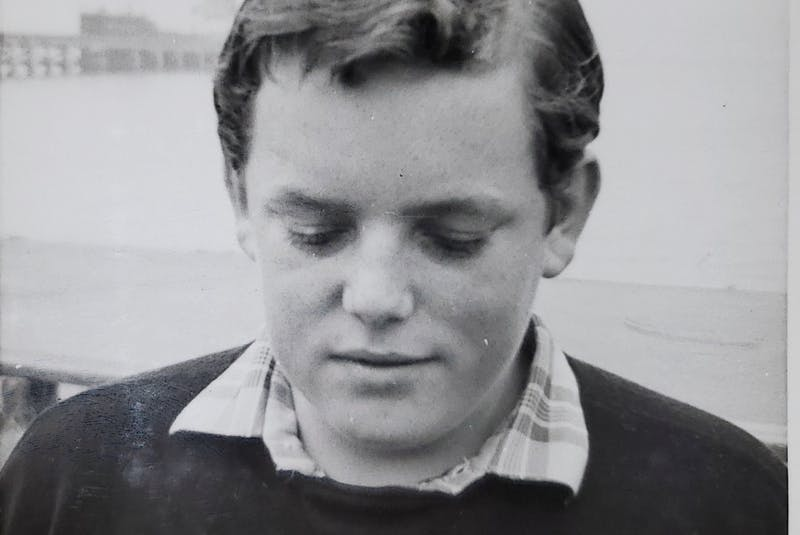 Ed Healy as an adolescent, growing up in England. — Contributed
