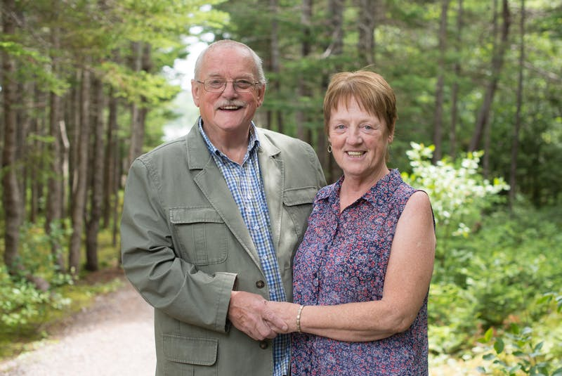 Ed Healy met his wife, Carmel, after moving to Fogo Island from England. They were married in 1968. — Contributed