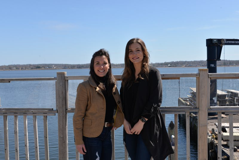 Neally Currie and Jenna Shinn, owners of the Salt & Sol Restaurant and Lounge in Charlottetown, are having a 25-foot, pontoon-style peddle passenger boat custom built as a new business venture. - Terrence McEachern