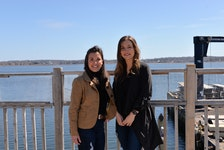 Neally Currie and Jenna Shinn - owners of the Salt & Sol Restaurant and Lounge - are having a 25-foot, pontoon-style peddle passenger boat custom built as a new business venture.