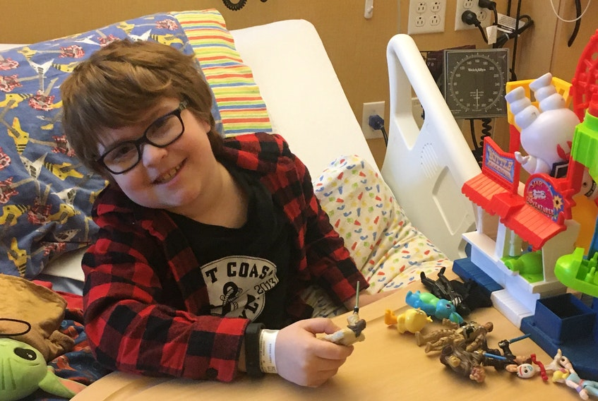 Matthew LeBlanc has been on the transplant waiting list for two months. His mother, Tonia LeBlanc, hopes the new donation law will increase the number of donors in Nova Scotia. - Submitted by Tonia.