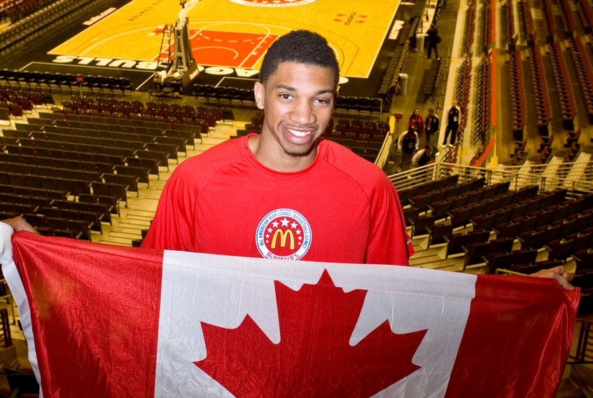 Khem Birch in 2011 at the McDonald's All-American Game.