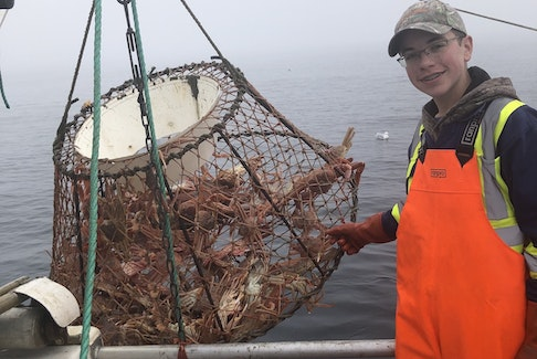 Jacob Hiscock, 15, of Winterton, N.L., hopes to someday own his own fishing enterprise.