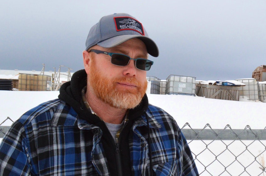 Lobster fisherman Chris Wall, director of the Malpeque Harbour Authority, says he has no hope the upcoming federal budget will include funding to address ongoing issues at Malpeque harbour. - Alison Jenkins • Local Journalism Initiative reporter
