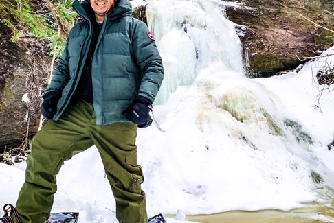 Wallace Bernard is a band councillor in We'koqma'q First Nation, and loves to explore Cape Breton Island. He said being in nature has a positive effect on his mental health. CONTRIBUTED