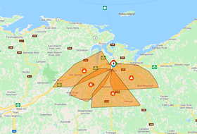 Power is out for approximately 11,000 customers in Pictou County this morning.