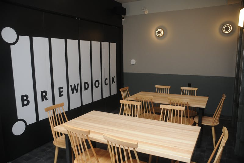 Brewdock's seating capacity under current COVID-19 health and safety guidelines is 39. — Andrew Robinson/The Telegram - Andrew Robinson