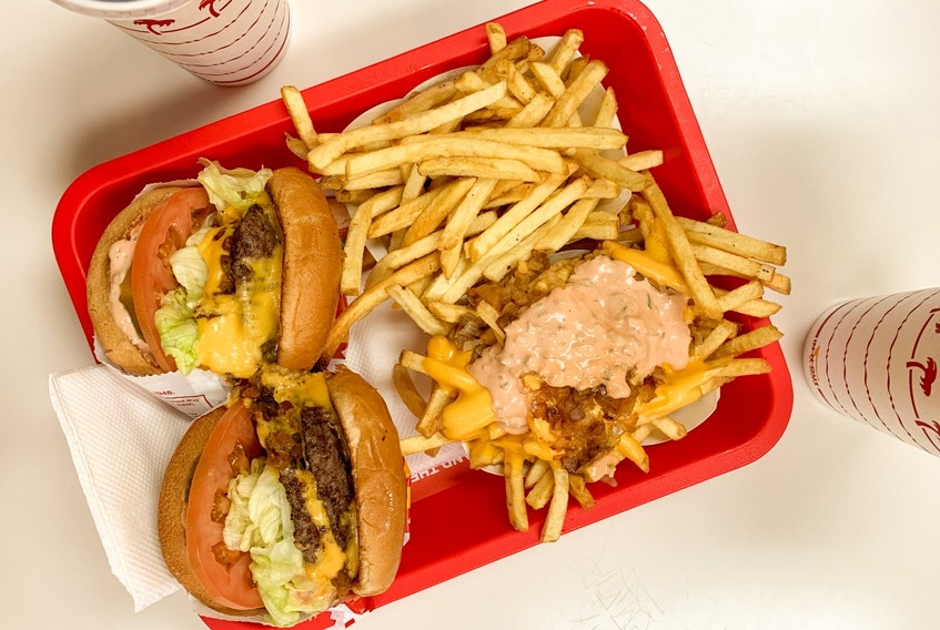 At In-N-Out, an American restaurant chain, their secret menu items are some of their most popular, like the Animal Style cheeseburger and Animal fries.