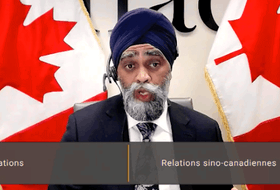 Defence Minister Harjit Sajjan told the Commons committee on Canada-China relations that Canada's commitment to the Asia Pacific region is growing.