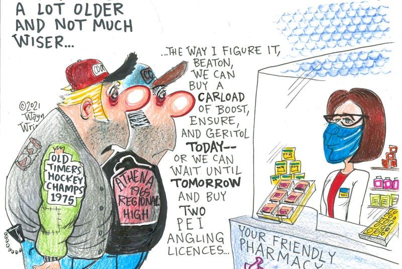 Wayne Wright's editorial cartoon for Wednesday, April 14, 2021. - Wayne Wright
