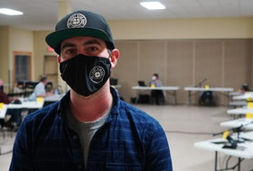 Matt Clendinning, owner of The Lucky Bean cafe in Montague and Stratford, addressed Three Rivers council during a meeting at the Cavendish Farms Wellness Centre in Montague on April 12.