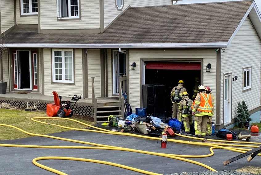 The Portugal Cove-St. Philip's Volunteer Fire Department and the St. John's Regional Fire Department responded to a structure fire on Skinners Rd., Portugal Cove-St. Philip's Wednesday morning.