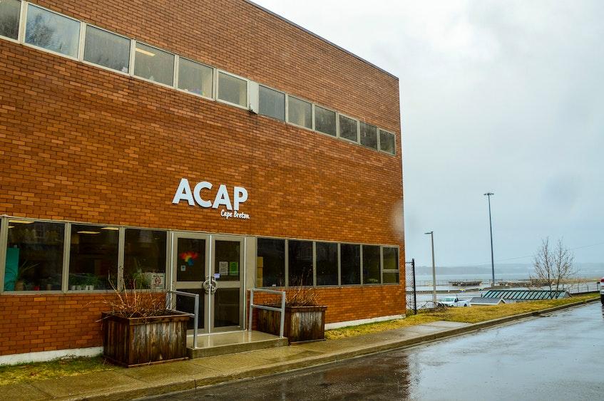 The ACAP Cape Breton office in Sydney. JESSICA SMITH/CAPE BRETON POST - Jessica Smith
