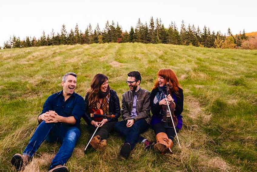Cape Breton's Beòlach picked up the first two awards of this year's awards season from the Canadian Folk Music Awards over the weekend. CONTRIBUTED