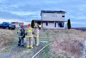 Firefighters were called out to a fire at an abandoned home in Melbourne, Yarmouth County, the morning of April 14. Fortunately the small fire had been spotted early, and was knocked down quickly before it spread. TINA COMEAU • TRICOUNTY VANGUARD