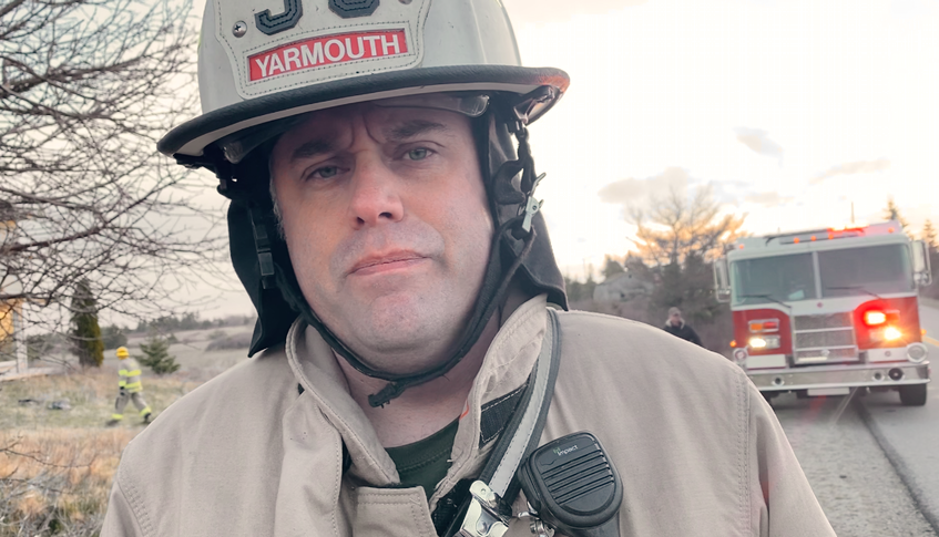 Mike Deveau, acting fire chief of the Yarmouth Fire Department. TINA COMEAU • TRICOUNTY VANGUARD
