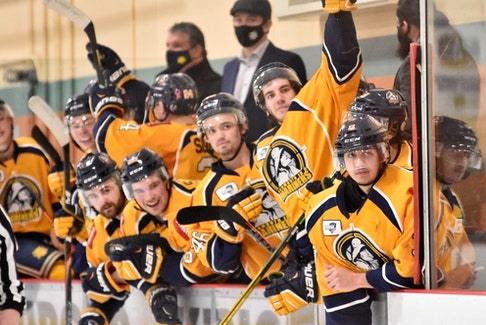 The Yarmouth Mariners say they feel lucky they've been able to play hockey this season and are looking forward to the MHL playoffs. TINA COMEAU • TRICOUNTY VANGUARD