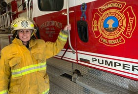Andrea Bishop is the first female fire chief among Cumberland County's 16 rural fire departments. In January, she was named the interim chief of the Collingwood Fire Department after the chief took a leave of absence. She has been a firefighter for 16 years and became the first woman to hold an executive role in 2018 when she was named deputy chief.