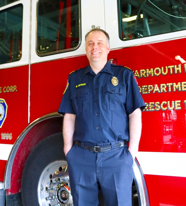 Yarmouth Fire Department Chief Mike Deveau. CONTRIBUTED