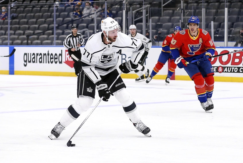 Pittsburgh acquired centre Jeff Carter from the Los Angeles Kings on Monday. It was the only move the Penguins made.