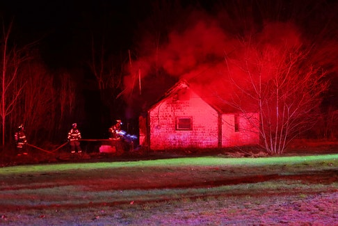 Firefighters were dispatched to a blaze at this Brooklyn Street home in North Kingston shortly after midnight on April 15. – Adrian Johnstone