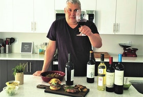 Saltwire's Mark DeWolf raises a glass in honour of Malbec World Day, celebrated each year on April 17.  Photo: Julia Webb