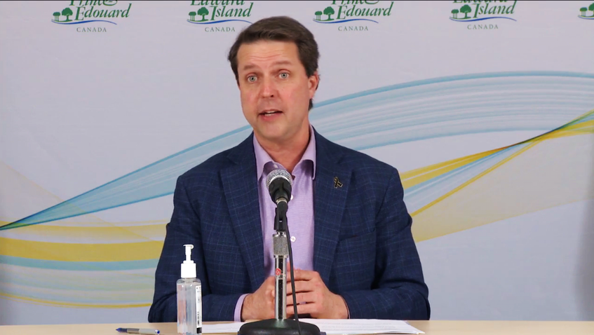 Social Development and Housing Minister Brad Trivers announced $3 million in funding for the CMHA and Habitat for Humanity for housing projects on Thursday. - Screenshot