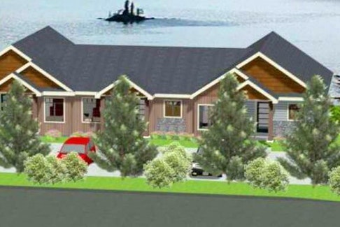 Site plans and artist renderings of a proposed development on Cameron Place in Pouch Cove shows what Viking Carpentry & Construction Ltd. owner Alan Flynn had hoped to build.