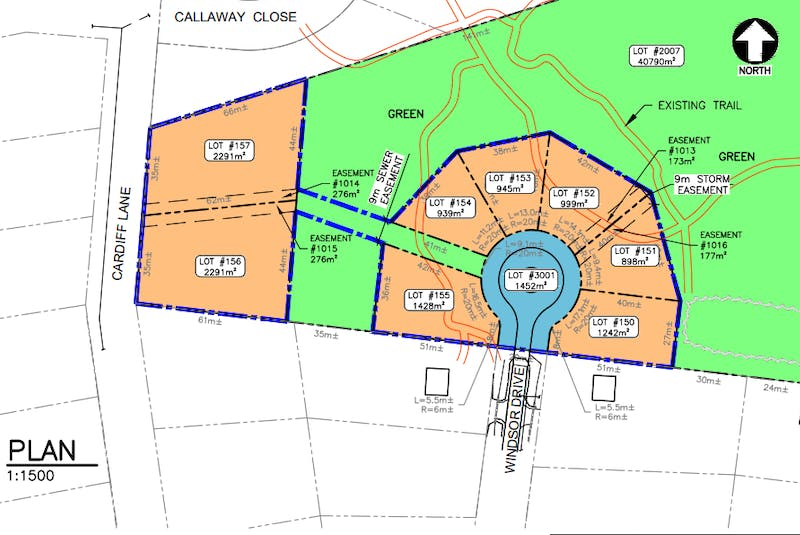 This section of the Foxwoods subdivision is being proposed for Windsor Drive in Stratford. - Contributed