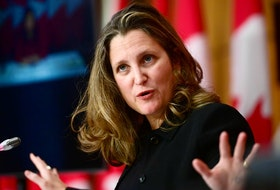 Finance Minister Chrystia Freeland.