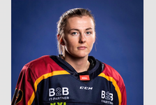 Allie Munroe of Yarmouth has been playing pro hockey overseas during the past two hockey seasons. She was one of three Nova Scotians invited to a selection camp for a chance to make the Team Canada national team ahead of a May women's world championship. CONTRIBUTED