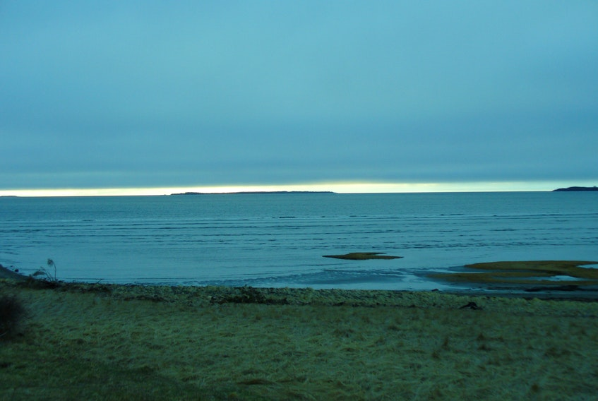 "Lynn Mossman shared this photo of a sunrise on Sand Dollar Beach in Rosebay, N.S. She said it looked like ""two oceans or two skies"" mirroring each other. Thank you for the photo, Lynn."