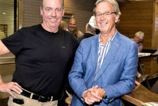Brent MacGrath and Garry Pye ended up partners in many business dealings, including Pye Chevrolet Buick GMC and, perhaps most famously, as two of the owners of harness racing superstar Somebeachsomewhere.