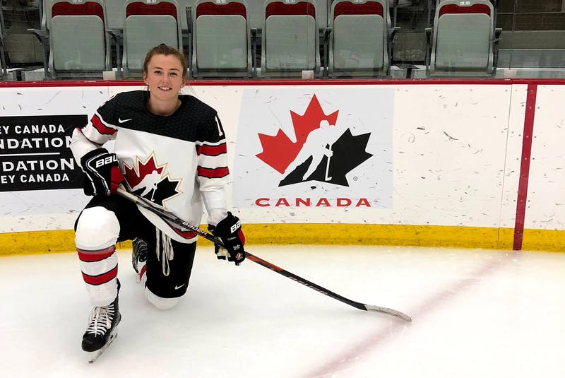 Hockey has taken Allie Munroe of Yarmouth to many places and opened many opportunities throughout her years playing the sport. CONTRIBUTED - Contributed