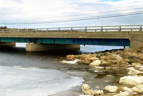 The New Bridge in River Ryan. CONTRIBUTED.