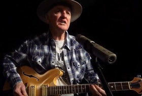Mickey Gouthro enjoys performing his original music wherever and whenever he can. CONTRIBUTED