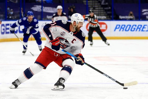 The Toronto Maple Leafs acquired veteran forward Nick Foligno Sunday from the Columbus Blue Jackets.