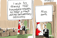 Cartoon by Gary Clement.