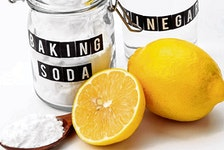 Many cleaning solutions derive from items kept around the house.
