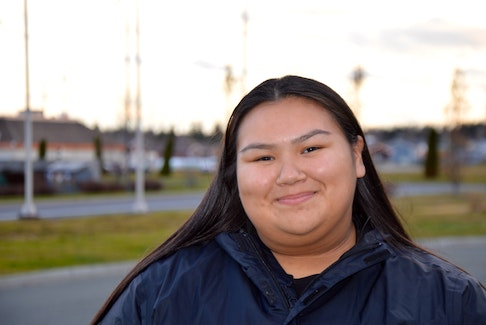 Jada Paul was elected the Membertou youth chief after elections last November. CAPE BRETON POST