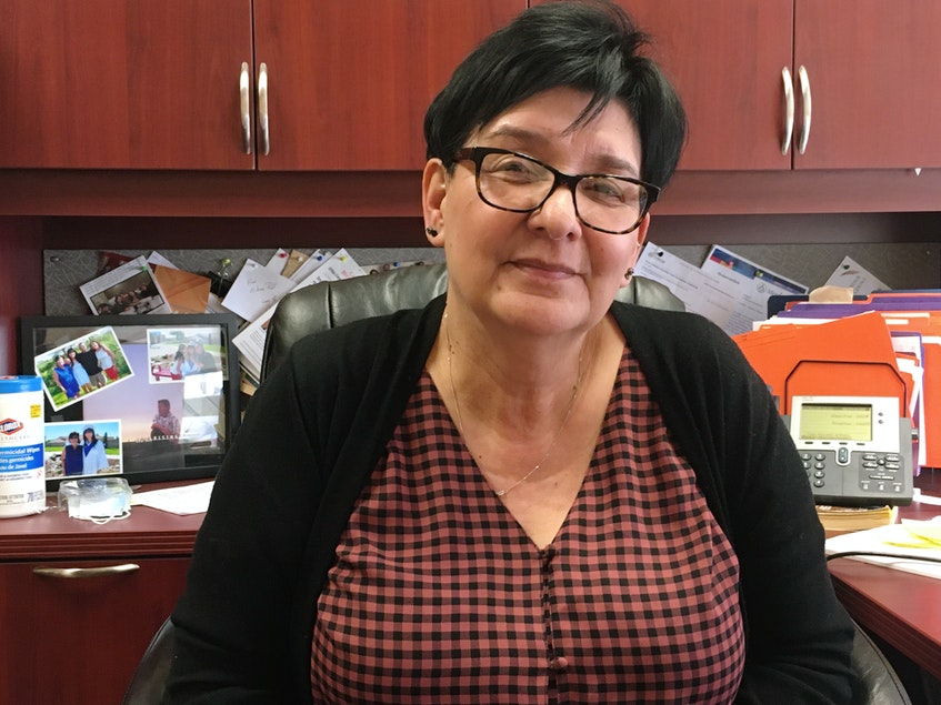 Eileen Paul is the manager of the Membertou Entrepreneurship Centre and a mentor to her community's youth chief and council. ARDELLE REYNOLDS • CAPE BRETON POST